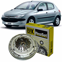 Kit Embreagem Luk C/ Aba Peugeot 206 1.4 Gas 2005 2006 2007