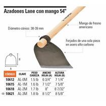 Azadones Lane Con Mango 54 Peso De Cabeza 1.6lb