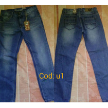 Jeans Para Caballeros Underground Industry Original Nuevo