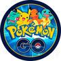 Pokemon Go Papel Arroz Redondo 20 Cm