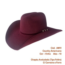 Chapéu Cowboy Country Rodeio Masculino E Feminino N.57