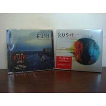 Lote 2 Cd Rush - Working Men + Vapor Trails Remixed * Nuevos