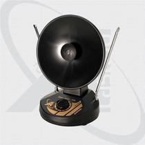Antena Digital Uhf Vhf Interna Mini Parabólica Castelo M1035