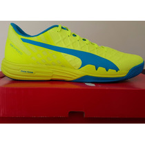 Zapatillas Puma Squash Tenis Paddle Voley Handball Indoor