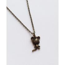 Collar De Ratón Mickey Mouse Animal Dijes Collar De Moda