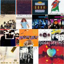 Discografía Soda Stereo. 15 Cd
