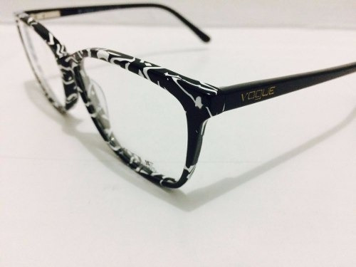 9461594239229 Armação Vogue De Grau Óculos Em Acetato Estilizado - R  130