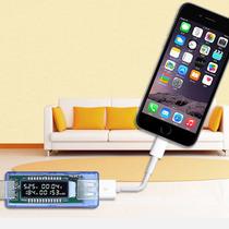 Medidor Usb Consumo Voltagem Corrente Tempo O Mais Completo