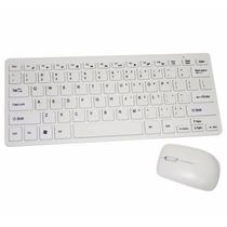 Combo Teclado Mouse Mini Inalambrico Usb Pc