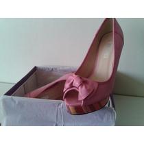 Zapatos De Dama - Via Spiga - Rosados - Talla 37