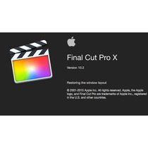 Final Cut Pro X 10.2.2 + Motion 5.2.2 + Compressor 4.2.1