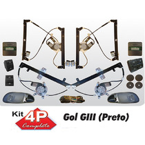 Vidro Eletrico Parati G3 4 Portas Completo Semsorizado