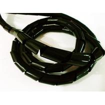 Cable Organizador Retractil 3/4 Negro 10 Mts Para Pc