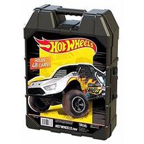 Hot Wheels 48 Car Case Estuche Carros Autos 1:64 Scale Malet