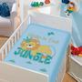 Cobertor Jolitex Infantil Berço Bebê Tradicional Jungle