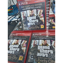 Gta Iv Ps3 Complete Edition Midia Física