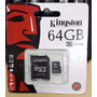Tarjeta Memoria Micro Sd Hc 64gb Clase4 Kingston Flores