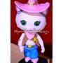 Callie Sheriff Porcelana Fria. Personajes Disney Junior