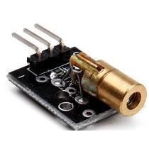 Laser Diodo Vermelho Ajustável 5v 650nm - 6 Mm Arduino Alarm