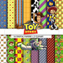 Kit Imprimible Pack Fondos Toy Story 3 Clipart