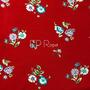 Flores Rojo (Polilycra)