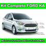 Kit Lampada Super Branca Novo Ford Ka 2015 Lançamento Barato