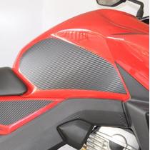 Protetor Lateral Tanque Carbo Moto Honda Nova Cb 250 Twister