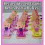 Recuerdo Baby Shower Nacimiento Foami Porta Dulces