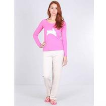 Pijama Blusa E Calça Feminino Sonhos Mãe E Filha - Pink