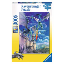 Rompecabezas Ravensburger 300 Piezas Lucha De Dragones 13193