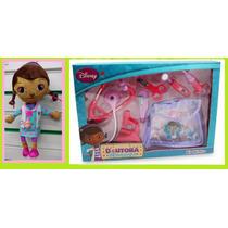 Boneca Musical + Maleta Médica Da Doutora Brinquedos Disney
