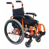 Cadeira De Rodas Infantil Funcional Jaguaribe - Frete Gratis