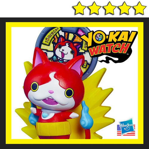 Jibanyan yokai watch con medalla para reloj yo kai bs for Chambre yo kai watch