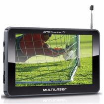 Gps Multilaser Tracker 5 Pol Tv Digital Fm Mp3 Usb Sd Radar