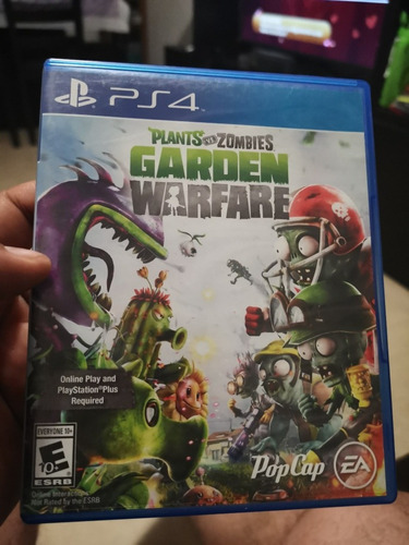 Juego De Ps4 Plants Vs Zombies Garden Warfare 270 00 En