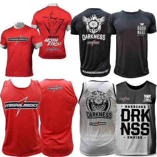 285b2526b6 Combo Camiseta Regata Camiseta Vermelha Nation Darkness - R  274