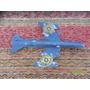 Antiguo Avión A Chorro Multicolor En Cartón P Cohete Juego