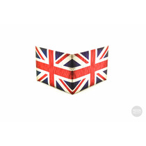 Moon Wallets Bandera De Inglaterra Cartera Billetera Papel