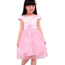 Vestido Infantil Social, Casamento, Aniversário, Festa