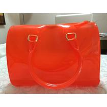 Bolsa Candy - Deli Bag - Laranja Transparente