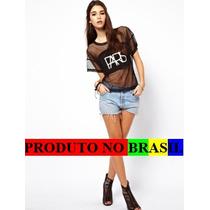 Blusa Sexy Balada Festa Rock Hip Hop Frete Gratis Brasil