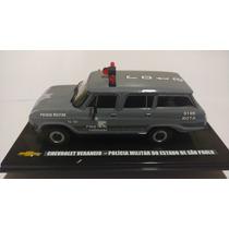 Miniatura Veraneio Rota Antiga Viatura Chevrolet Collection