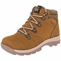 Zapatos Boddy T/botines Piel 48-05 Camel Niño Oi