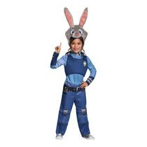 Disfraz Zootopia Judy Hopps Niña Halloween Conejita