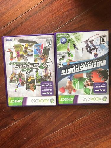 Juegos De Kinect De Deportes Para Xbox 360 300 00 En Mercado Libre