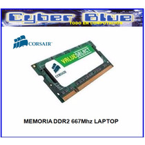 Memoria Corsair Ddr2 1gb 667mhz Para Laptop Sodimm