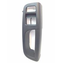 Puxador Moldura Porta Dianteira Esquerdo Vw Gol G6 - Preto