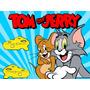 Kit Imprimible Tom Y Jerry Diseñá Tarjetas Cumple Y Mas #1