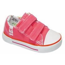 Zapatillas De Lona Heyday Niños C/abrojo 23 Al 29 Art 2980
