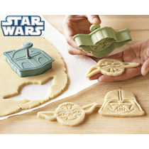 B Set 4 Cortadores De Galletas De Star Wars